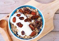 Hurma yoğurt diyeti ile 1 haftada 4 kilo