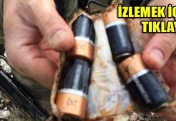 PKKnın kullandığı mağarada ele geçirildi