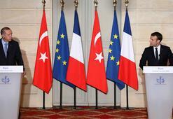 Son dakika... Cumhurbaşkanı Erdoğan Pariste ABye rest çekti Sürekli Ne olur bizi alıverin diyecek halimiz yok...