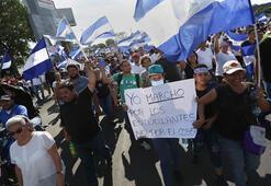 Nikaraguada gözaltındaki göstericiler serbest