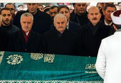 Başbakan Yıldırım, Hüseyin Aytaçın cenaze törenine katıldı
