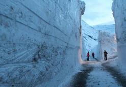 Yedi metrelik kar Dünya bu fotoğrafı konuşuyor