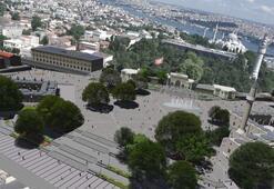 Beyazıt Meydanındaki çalışmaların detayları belli oldu