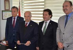 Bursasporda yönetim listeleri divana verildi