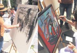 Dünyanın ressamları  Kuşadası Hilton'da