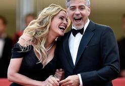 George Clooney, eşini Julia Robertsla mı aldattı