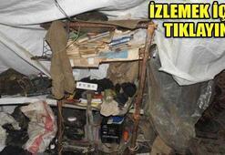 PKKnın cephaneliği Dağlıcada ortaya çıktı