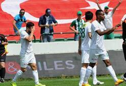 Bursaspor-Gaziantepspor: 2-0