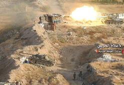 Son dakika... Görüntüler ortaya çıktı Tanklar ve füzeler ateş etti