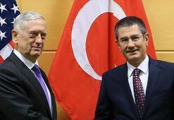 Milli Savunma Bakanı Canikli ile ABD Savunma Bakanı Mattisin görüşmesi sona erdi