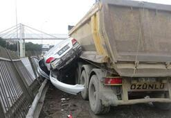 Hafriyat kamyonu dehşeti Ezdi geçti...