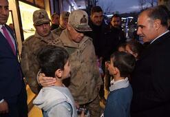 Jandarma Genel Komutanı Arif Çetin Şırnak'ta…