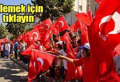 Türkiye 30 Ağustos Zafer Bayramını kutladı