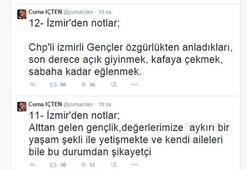 Ak Partili İçtenden tepki çeken İzmir notları