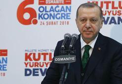 Cumhurbaşkanı Erdoğan: Bize ders vermeye kalkanlar paçavralara sarılı tabutlarla dönüyorlar