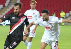 Balıkesirspor - Gaziantepspor: 1-1