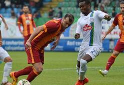 Çaykur Rizespor - Galatasaray: 1-1