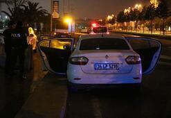 İstanbulda polis-şüpheli kovalamacası
