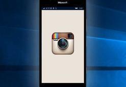 Windows 10 işletim sitemine sahip olan telefonlardan Instagram kalktı