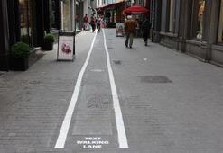 Belçikada mesajlaşanlar için özel yol