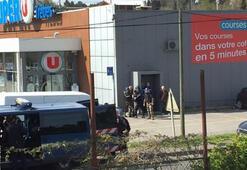 Son dakika... Fransada rehine operasyonu sona erdi, saldırgan öldürüldü