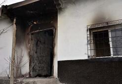 5 kişiyi katleden zanlının evi kundaklandı