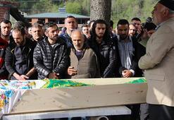 Resul Dindarın kazada ölen annesi toprağa verildi