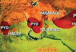 İşte bakanların, komutanların önündeki son Suriye haritası…YPG şoku
