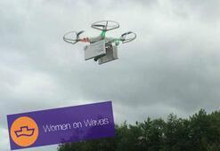 Drone ile kürtaj hapı gönderilecek