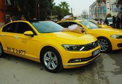 230 bin liralık lüks otomobili taksi yaptı
