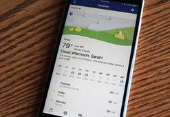 Facebooka hava durumu uygulaması geliyor