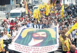 Kadıköy'de Madımak mitingi