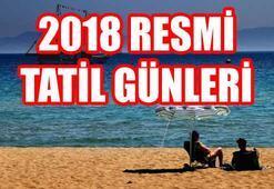 2018 resmi tatil günleri... 23 Nisan hangi güne denk geliyor
