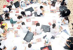 Çocukların bayılacağı  bir oyun: Resim