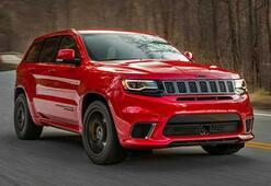Karşınızda dünyanın en güçlü SUVU: Jeep Grand Cherokee Trackhawk