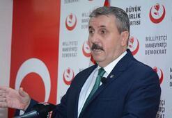 BBP Genel Başkanı Desticiden ittifak açıklaması
