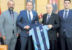Adana Demirspor'dan  Bahçeli'ye ziyaret