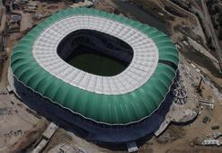 Timsah Arena böyle görüntülendi