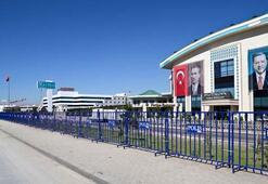 AK Partinin Afyonkarahisardaki kampı için yoğun güvenlik önlemi