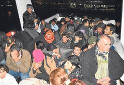 Sekiz operasyonda 400 kaçak yakalandı