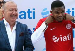 Antalyaspor Başkanı Gencer, Valdes için gün verdi