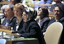 Emine Erdoğan BM'de kadın haklarını anlattı