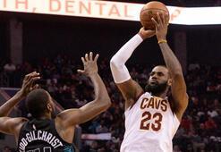 LeBron James, Michael Jordanı yakaladı
