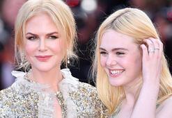 Kırmızı halıya Nicole Kidman ve Elle Fanning damgası