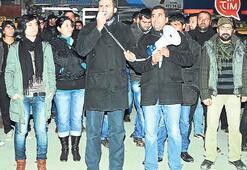Tunceli'de kadın garson söylentisi eylem yaptırdı