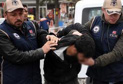 PKK kundakçısı inşaatta çalışırken yakalandı