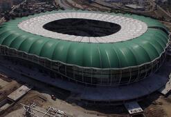 Timsah Arena, Gaziantepspor maçına yetişebilir