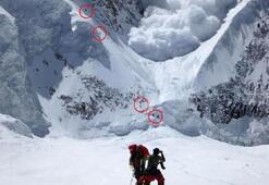 Türk dağcı dehşeti fotoğrafladı