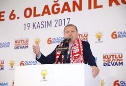 Cumhurbaşkanı Erdoğan: Milletçe ya adam gibi yaşayacağız, ya da...