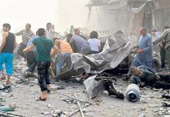 Das Kampfflugzeug stürzte in den eigenen Bombengraben